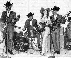 suzi with the band